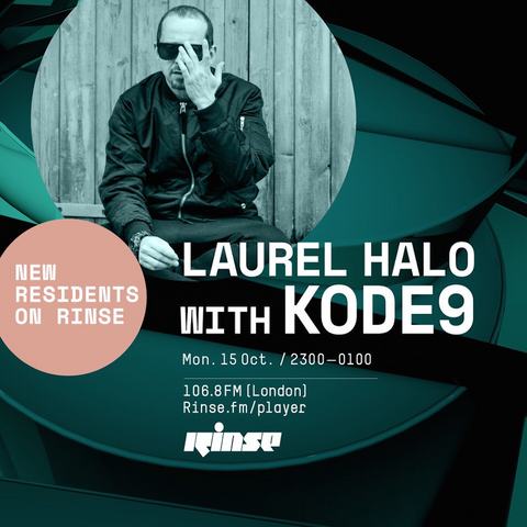 Laurel Halo and Kode9 - 15.10. 2018 (Rinse FM)
